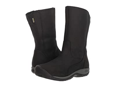 Keen Presidio II Waterproof Boot (Black/Magnet) Women