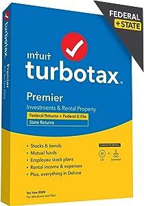 Intuit Turbotax Desktop Premier 2020