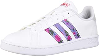 adidas Womens Grand Court Sneakers Shoes - White