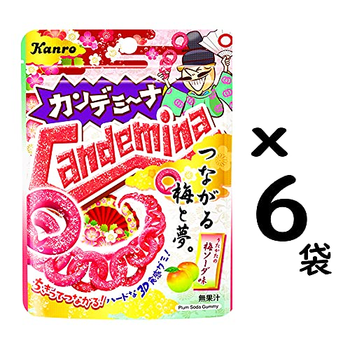 カンロカンデミーナグミつながる梅と夢40g×6袋