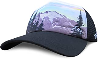 Grace Folly Foam Trucker Hat Snapback Mesh Baseball Cap for Men or Women