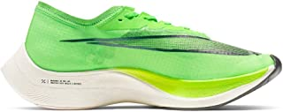 Nike ZoomX Vaporfly Next% Running Shoes (M10.5/W12, Green/Black)