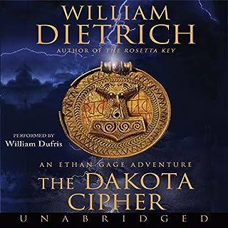 The Dakota Cipher audiobook cover art