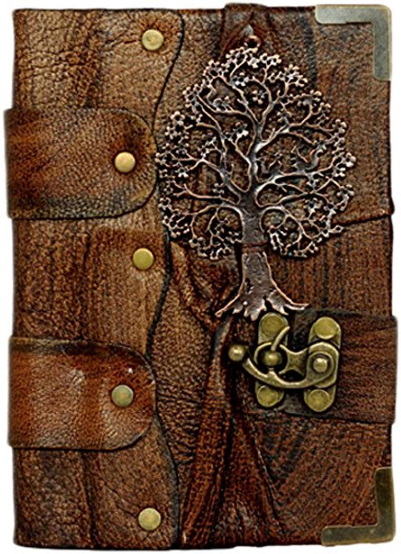 A Little Present 12,5 12,5 12,5 x 17,5 cm Baum des Lebens Eichhörnchen Anhänger Design Leder Tagebuch Größe  Width  12.5 CM X Length 17.5 CM braun B00VRJ9QF8 | Deutschland  108810