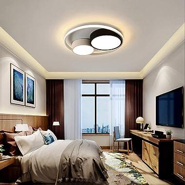 -Ceiling Light Led moderne Lumières de plafond, chambre Salon Chambre Salle à manger Lampe Salle Fixtures ronde intérieur [Cl
