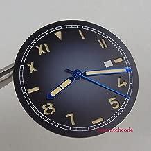 FidgetGear 36.1mm sterile Sandwich Gradient dial fit mingzhu 2813 3804 8215 821A Mens Watch Show One Size