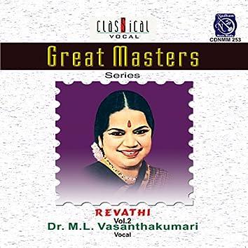 Great Masters - Revathi - Dr.M.L. Vasanthakumari