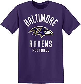 Zubaz Men's Officially Licensed NFL Solid Color T Shirts