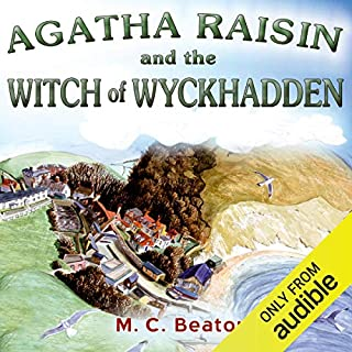Agatha Raisin and the Witch of Wyckhadden cover art