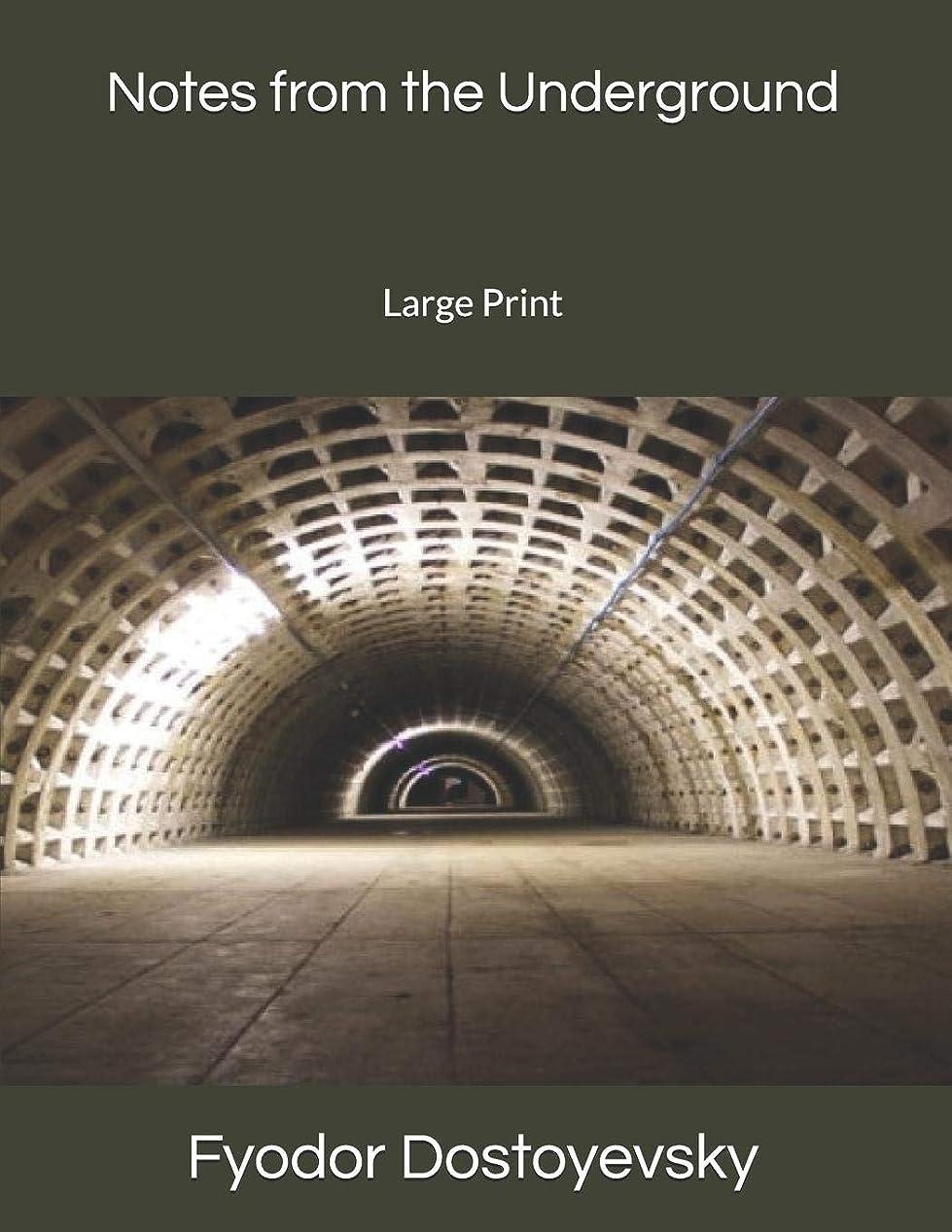 雄弁不倫ターゲットNotes from the Underground: Large Print