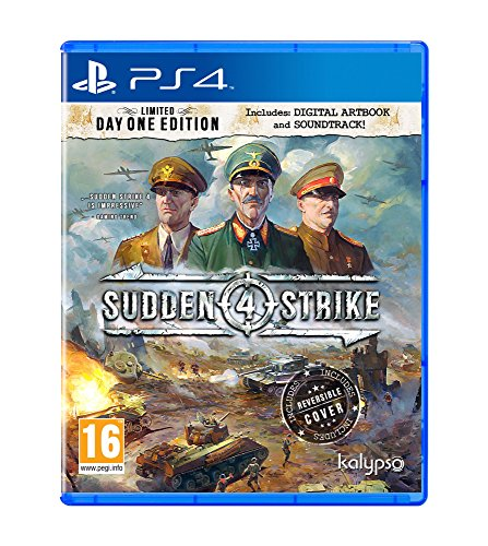 Kalypso Media UK Sudden Strike 4 Limited Day One Edition PS4