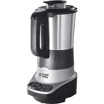 PRIXTON Thermogrind - Robot Cocina / Robot de Cocina Multifuncion: Calienta, Hierve, Pica, Cuece, Bate con Jarra de 2,5 L, Filtro de Acero Inoxidable y Cesta: Amazon.es: Hogar