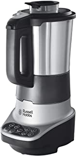comprar comparacion Russell Hobbs – Robot de cocina 2 en 1 (Licuadora y Máquina para hacer Sopas, 1200W, Inox, 1,75l, Gris) -ref. 21480-56