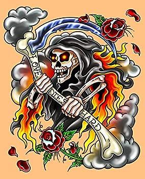 Best traditional grim reaper tattoos Reviews
