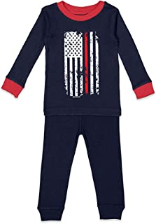 american flag fire hose
