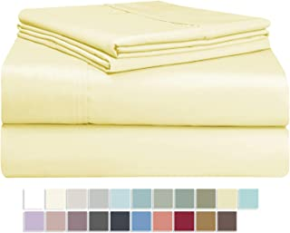 Best yellow cotton sheets Reviews