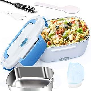 boîte à lunch chauffée,Lunch Box Chauffante Électrique 3 en 1,Boite a lunch enfant/adulte,12V/24V/220V,pour Bureau, école,...