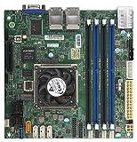 Supermicro Motherboard MBD-A2SDI-8C-HLN4F-B Atom C3758 Mini-ITX 128GB DDR4 PCI Express SATA Brown Box