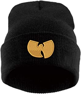 Women Cap with WU Tang Clan Warm Winter Hats for Women Men Beanie Knitting Wool Hip-Hop Hat Male Gorros