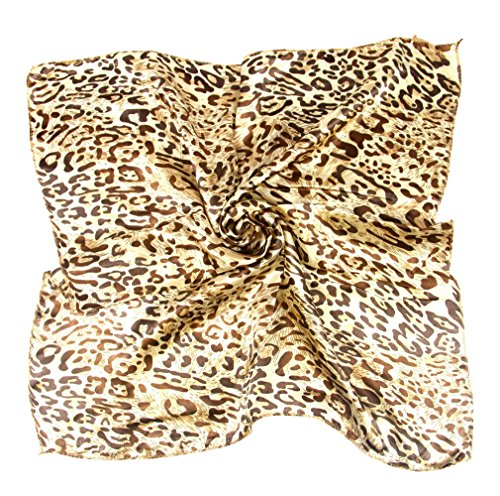 COMVIP Mujeres Impreso Clerk Fular pelo Wraps Pañuelo
