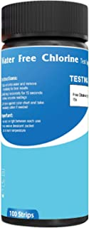 Buy n Save Chlorine Water Test Strips for Pool, Spa, Hot Tub, Shower, Filter. Strip for Testing Free Chlorine 0-20 mg/l. Quality Results in Seconds with Easy to Read and Accurate Color Chart.