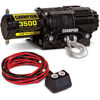 3500 lb KFI Products SE35 ATV Stealth Winch Kit Capacity