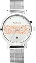 Fastrack Animal Print Analog Silver Dial Women's Watch-6222SM03