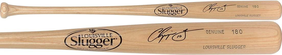 Chipper Jones Atlanta Braves Autographed Louisville Slugger Bat - Fanatics Authentic Certified - Autographed MLB Bats