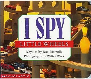 I Spy Little Book 视觉大发现 英文原版绘本纸板书 6册合售 美国国家育儿类出版物奖