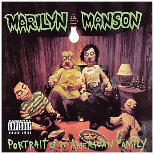 Portrait of an American Family by Marilyn Manson Explicit Lyrics edition (1994) Audio CD