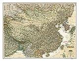 National Geographic: China Executive Wall Map (30.25 x 23.5 inches) (National Geographic Reference Map)