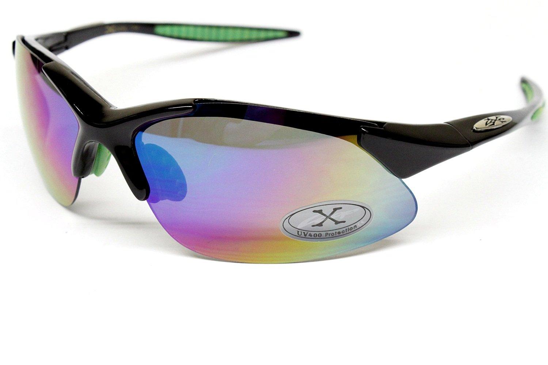 Men/'s Women/'s X Loop Sunglasses XL0103 UV400 Davis B2 blue white sunnies