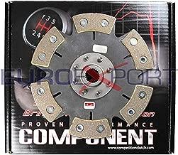 Competition Clutch 6 Puck Rigid/Solid Clutch Disc for Honda 1.6L B16 1.8L B18 2.0L B20 99785-0620