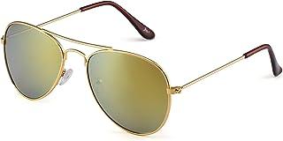 Kids Mirror Aviator Sunglasses Flash Tinted Children...