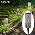 MAGGIFT Solar Garden Lights Outdoor Solar Pathway Lights Patio Lawn Yard Driveway Landscape Christmas Holiday Decorations
