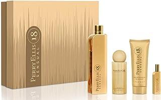 Perry Ellis Fragrances 18 Sensual 4-Piece Gift Set