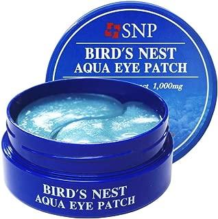 SNP - Bird's Nest Aqua Moisturizing Eye Patch - Contains EGF - 60 Patches