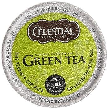 Celestial Seasonings Green Tea K-Cup Portion Pack for Keurig K-Cup Brewers  Pack of 48
