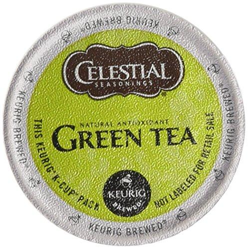 Celestial Seasonings, Green Tea, K-Cup Portion Pack for Keurig K-Cup Brewers (Pack of 48)