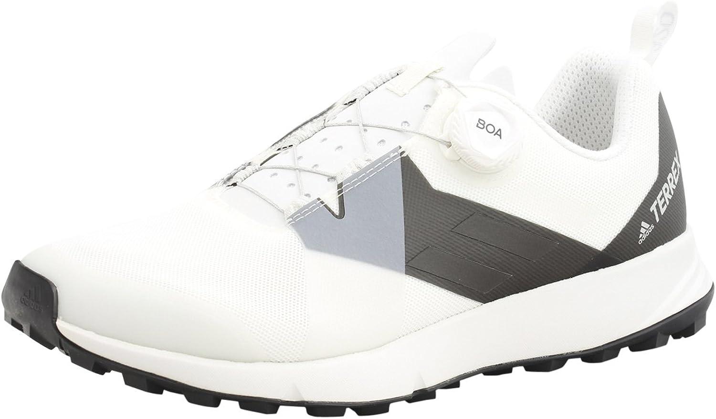 Adidas Sport Performance Men's Terrex Two Boa Sneakers, White, 8 M