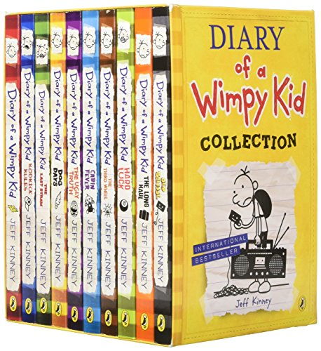 Diary of a Wimpy Kid Box Set Collection (10 Books) (Diary of a Wimpy Kid)