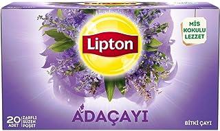 Lipton Adaçayı 20'Li Bardak Poşet Bitki Çayı 1 Paket