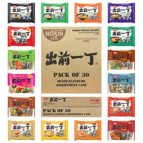 Nissin Demae Ramen Instant Noodles [Case of 30 | Customised Assorted...