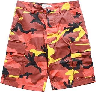 a04e30517d Mxssi Camouflage Cargo Men Shorts Hip Hop Dancing Boys Tide Shorts