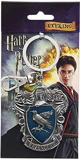 HARRY POTTER Ravenclaw School Crest Pewter Keychain
