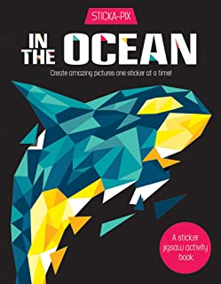 In the Ocean: Create Amazing Pictures One Sticker at a Time!