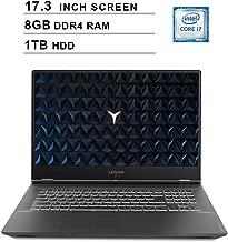 Lenovo 2019 Legion Y540 17.3 Inch FHD IPS Gaming Laptop (9th Gen Intel 6-Core i7-9750H up to 4.5 GHz, 8GB RAM, 1TB HDD, Nvidia GeForce GTX 1660 Ti, Bluetooth, WiFi, HDMI, Windows 10)