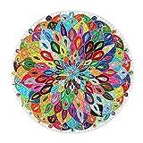 FLYTYSD Juegos De Puzzles para Adultos, Mandala Picture Puzzle Set, Cartón Puzzle, Juego Educativo Estrés Relevista Difícil Puzzle Challenge for Kids, 1000 Piezas