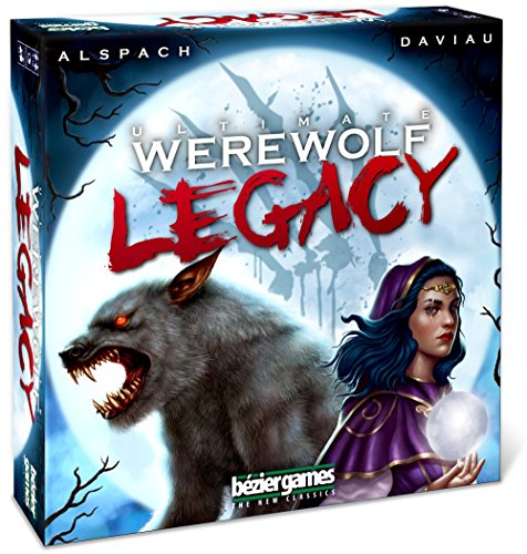 Bézier Games BEZUWLG Bezier Games Ultimate Legacy Werewolf Multicolore - version anglaise