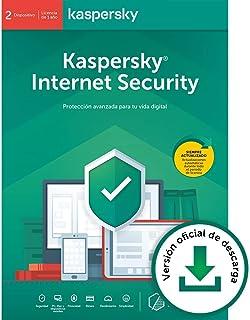 Kaspersky Internet Security 2020 | 2 Dispositivos | 1 Año | PC / Mac / Android  | Código de activación vía correo electrónico